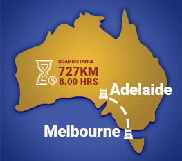 Melbourne to Adelaide Removalists