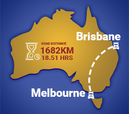 Melbourne to Brisbane Removalists